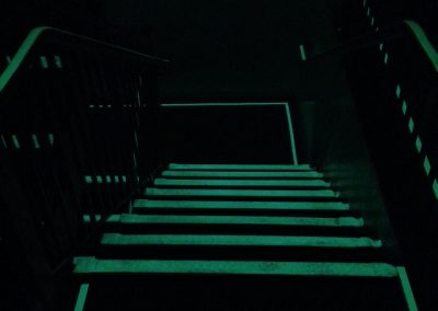 Glowing in the dark stairs 2 - EverLasting Glow