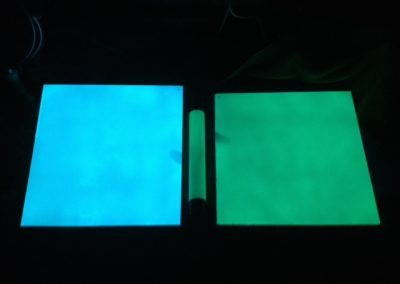 EverLasting glow blue & Green glowing panels