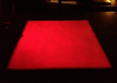 EverLasting glow red glowing panel